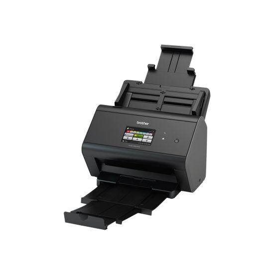 Brother ADS-2800W - dokumentscanner - desktopmodel - USB 2.0, Gigabit LAN, Wi-Fi(n), USB 2.0 (Host)