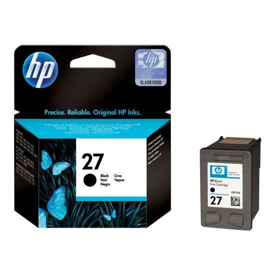 HP 27 - sort - original - blækpatron