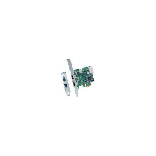 IOI FWB-PCIE1X20 - FireWire adapter - 3 porte