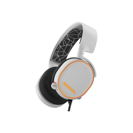 SteelSeries Arctis 5 - headset - hvid