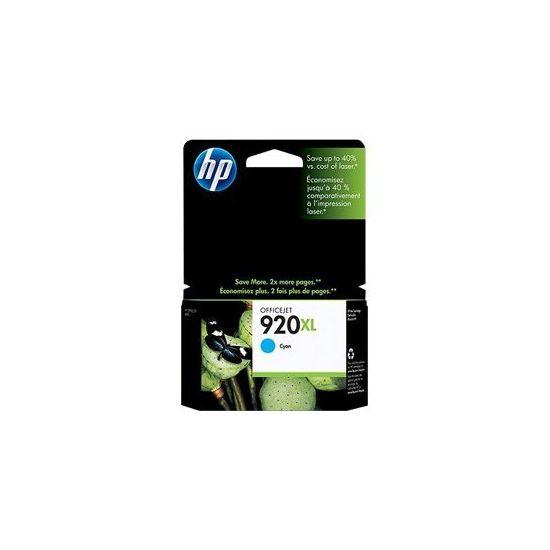 HP 920XL - Højtydende - cyan - original - blækpatron