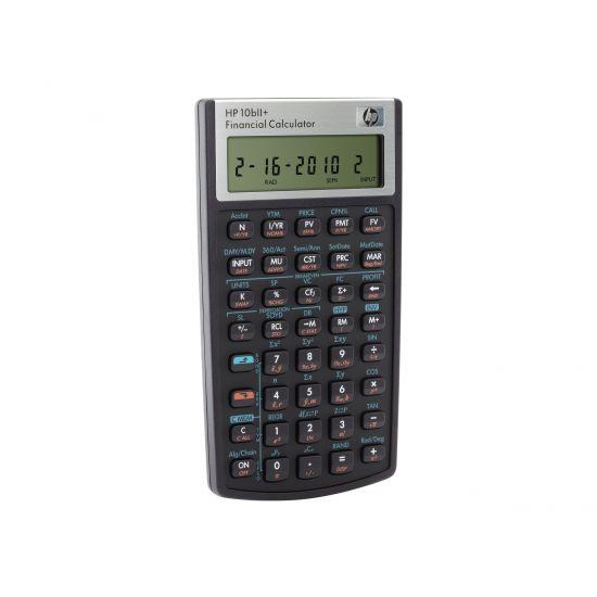HP 10bII+ - finansiel regnemaskine