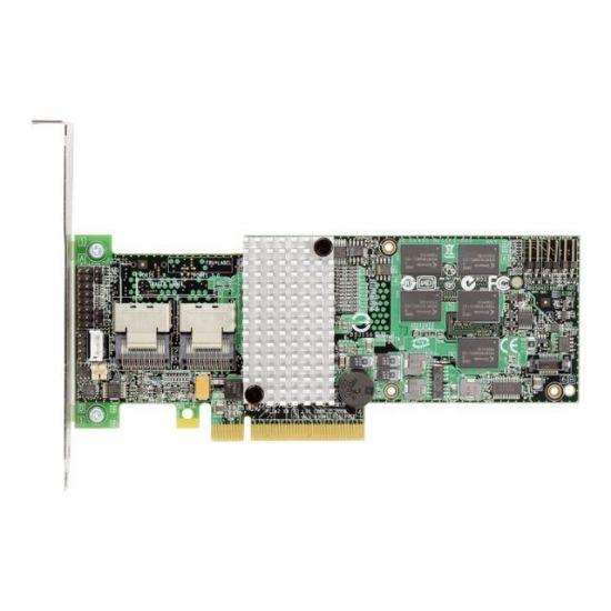 Intel RAID Controller RS2BL080 - styreenhed til lagring (RAID) - SATA 3Gb/s / SAS - PCIe 2.0 x8