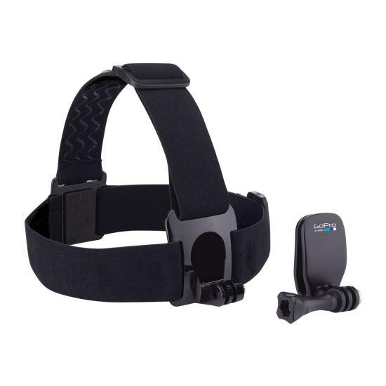 GoPro Head Strap + QuickClip - støttesystem