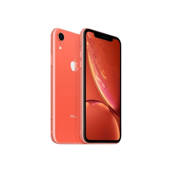 Apple iPhone Xr - Koral - 4G LTE, LTE Advanced - 256 GB - GSM - smartphone