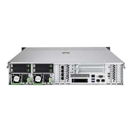 Fujitsu PRIMERGY RX2540 M4 - rack-monterbar - Xeon Silver 4110 2.1 GHz - 16 GB - 0 GB