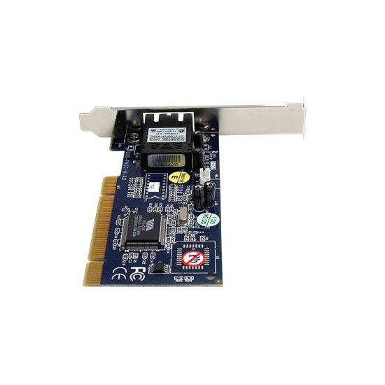 StarTech.com 100Mbps Full/Low Profile Ethernet Multi Mode SC Fiber PCI NIC Card 2km