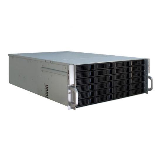 Inter-Tech IPC 4U-4424 - rackversion - 4U - udvidet ATX