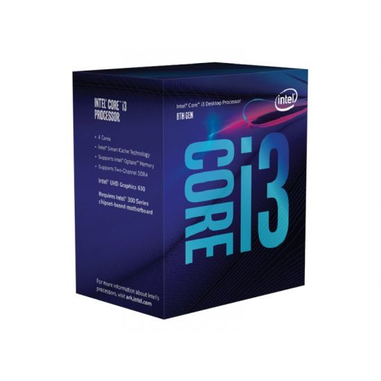 Intel Core i3 8100 / 3.6 GHz Coffee Lake Processor - LGA1151