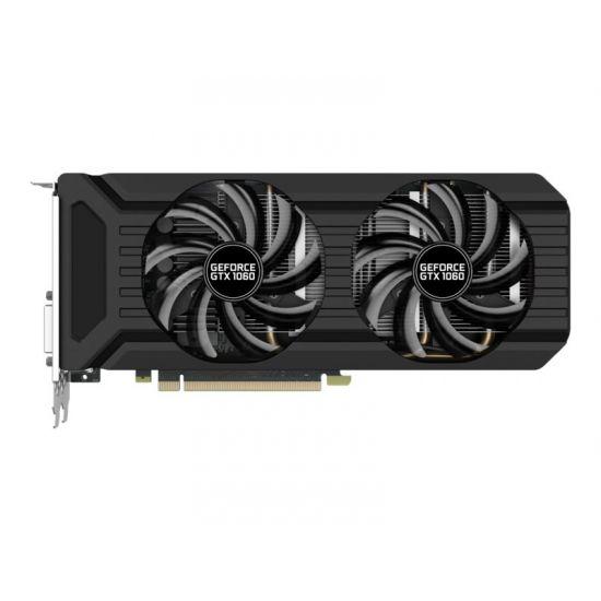 Palit GeForce GTX 1060 Dual &#45 NVIDIA GTX1060 &#45 6GB GDDR5 - PCI Express 3.0 x16