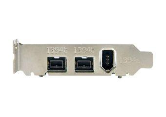 StarTech.com 3 Port 2b 1a Low Profile 1394 PCI Express FireWire Card Adapter