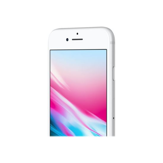 Apple iPhone 8 Plus - sølv - 4G LTE, LTE Advanced - 256 GB - GSM - smartphone