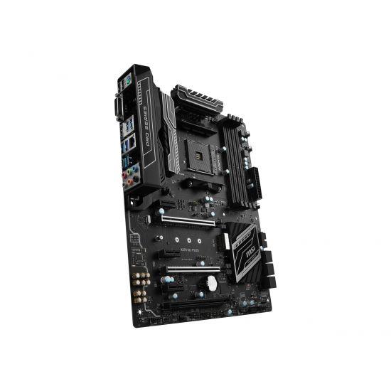 MSI X370 SLI PLUS - bundkort - ATX - Socket AM4 - AMD X370