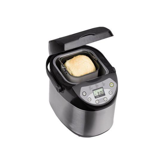 OBH Nordica Breadmaker Inox (6544) - brødmaskine - rustfrit stål sort ... 5273b40092aca