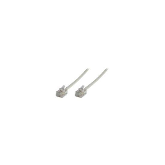 MicroConnect Modular Straight - telefonkabel - 3 m