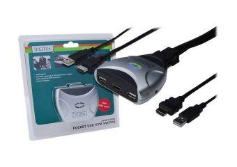 DIGITUS USB Pocket KVM Switch DS-11900