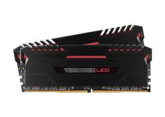 Corsair Vengeance LED &#45 32GB: 2x16GB &#45 DDR4 &#45 2666MHz &#45 DIMM 288-PIN