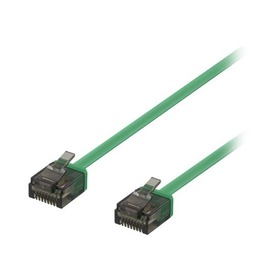 DELTACO patchkabel - 3 m - grøn