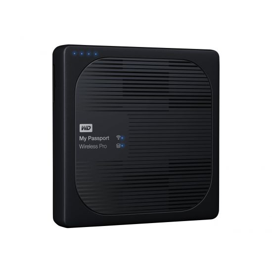 WD My Passport Wireless Pro WDBSMT0040BBK - netværksdrev - 4 TB
