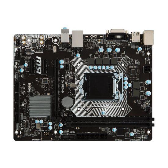 MSI H110M PRO-D - bundkort - micro-ATX - LGA1151 Socket - H110