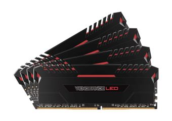 Corsair Vengeance LED &#45 64GB: 4x16GB &#45 DDR4 &#45 3200MHz &#45 DIMM 288-PIN