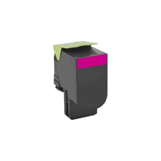 Lexmark 802SM - magenta - original - tonerpatron - LCCP, LRP