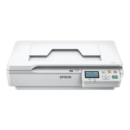 Epson WorkForce DS-5500N - flatbed-scanner - desktopmodel - USB 2.0, LAN