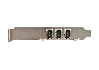 StarTech.com 4 port PCI 1394a FireWire Adapter Card