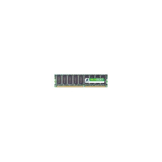 Corsair Value Select - DDR - 1 GB - DIMM 184-PIN
