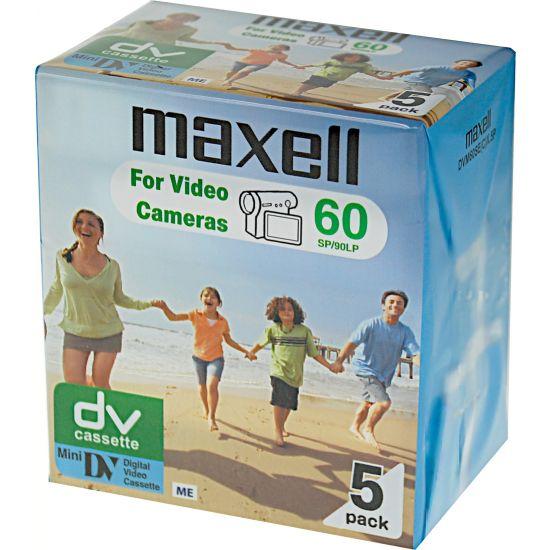 Maxell DV-bånd - 5 x 60min