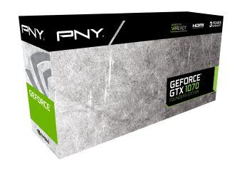 PNY GeForce GTX 1070 &#45 NVIDIA GTX1070 &#45 8GB GDDR5