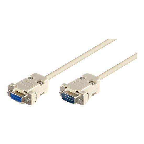 MicroConnect serielforlængerkabel - 5 m