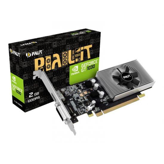 Palit GeForce GT 1030 - grafikkort - GF GT 1030 - 2 GB