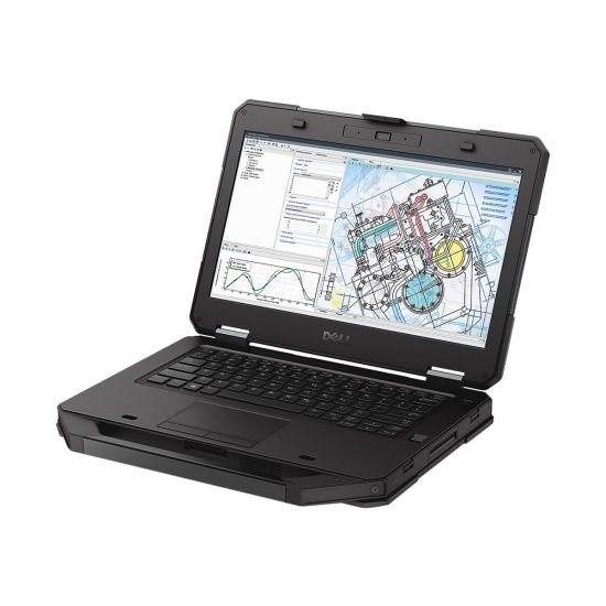Dell Latitude 5414 Rugged - Intel Core i5 (6. Gen) 6300U / 2.4 GHz - 8 GB DDR4 - 256 GB SSD - (M.2) - Intel HD Graphics 520 - 14""