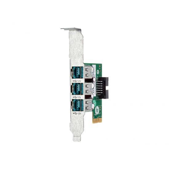 HP 12V USB+ Power Card - USB-adapter - 3 porte