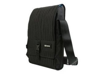 Speck PortPack Shoulder Bag Speakeasy Black Pinstripe