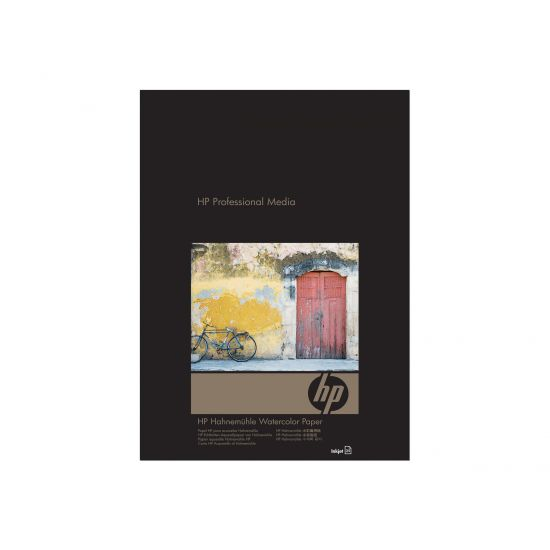 HP Hahnemuhle Watercolor Paper - akvarelpapir - 25 ark - Super A3/B - 210 g/m²