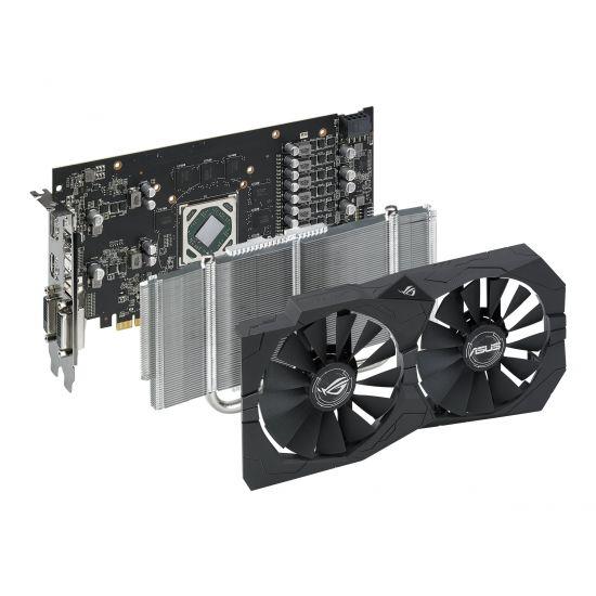 ASUS ROG-STRIX-RX570-O4G-GAMING &#45 AMD Radeon RX570 &#45 4GB GDDR5