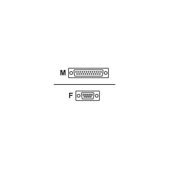 DELTACO modemkabel - 3 m