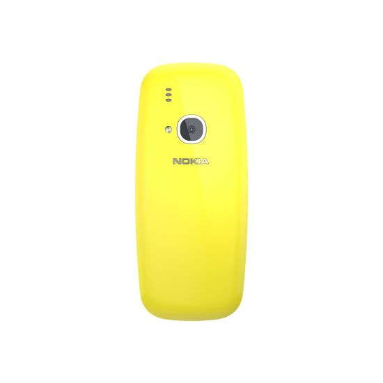Nokia 3310 3G - gul - 3G 64 MB - GSM - mobiltelefon