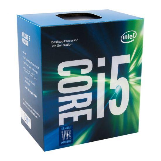 Intel Core i5 7500 (7. Gen) - 3.4 GHz Processor - Quad-Core med 4 tråde - 6 mb cache