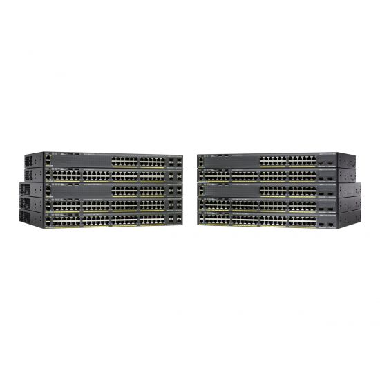 Cisco Catalyst 2960X-48LPS-L - switch - 48 porte - Administreret - monterbar på stativ