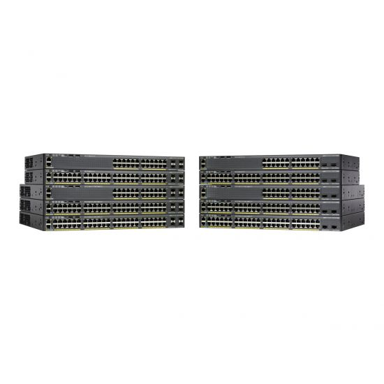 Cisco Catalyst 2960X-48LPS-L - switch - 48 porte - Administreret - monterbar på stativ