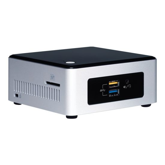 Intel Next Unit of Computing Kit NUC5CPYH - mini PC - Celeron N3050 1.6 GHz - 0 MB - 0 GB