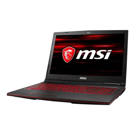 MSI GL63 8RC 058NE - Intel Core i5 (8. Gen) 8300H / 2.3 GHz - 8 GB DDR4 - 1 TB HDD SATA / 7200 rpm - NVIDIA GeForce GTX 1050 - 15.6""