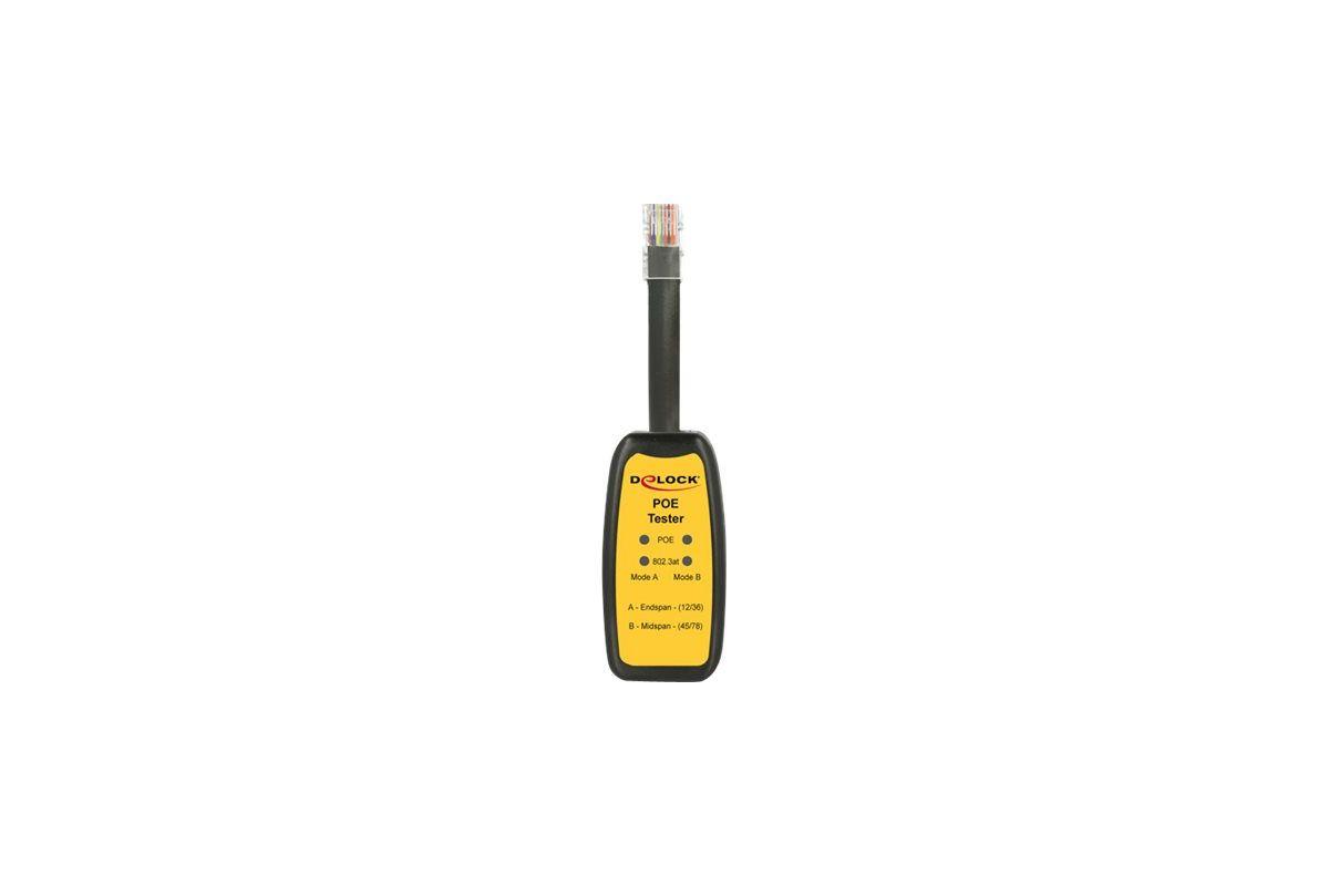 DeLOCK PoE Tester Mode A / B 802.3af / at