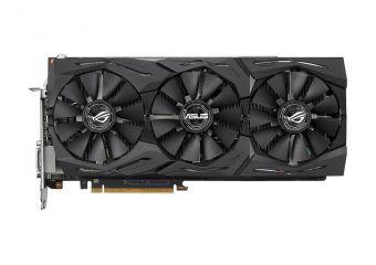 ASUS ROG-STRIX-RXVEGA64-O8G-GAMING &#45 AMD Radeon RXVEGA64 &#45 8GB HBM2