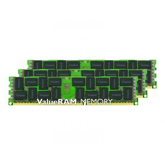 Kingston ValueRAM &#45 48GB: 3x16GB &#45 DDR3L &#45 1333MHz &#45 DIMM 240-pin - ECC - CL9