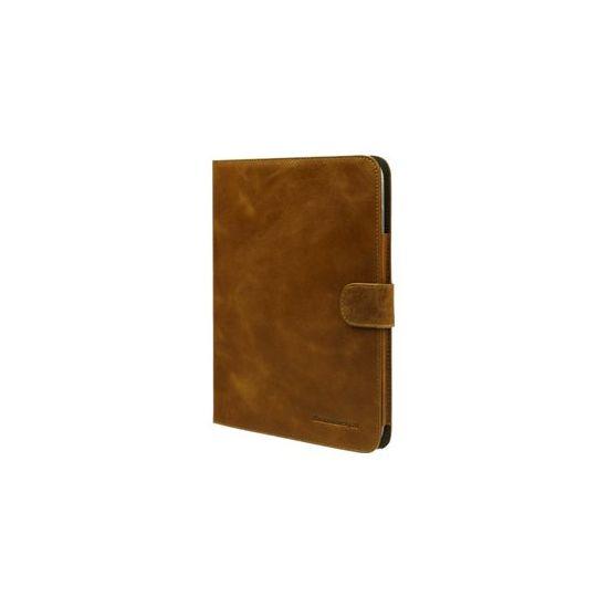 D. Bramante 10.1´´ Folio til Galaxy Tab 3 i Gylden tan Læder