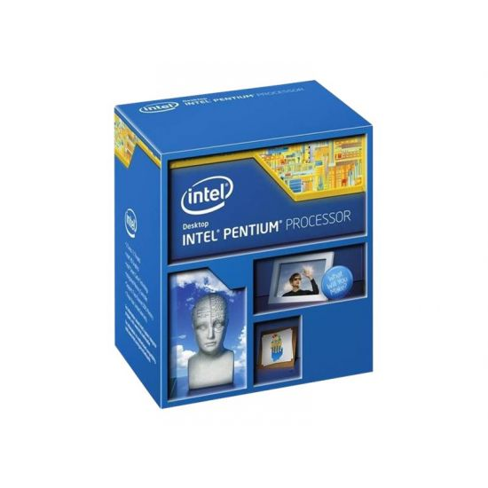Intel Pentium G4600 - 3.6 GHz Processor - Dual-Core med 4 tråde - 3 mb cache
